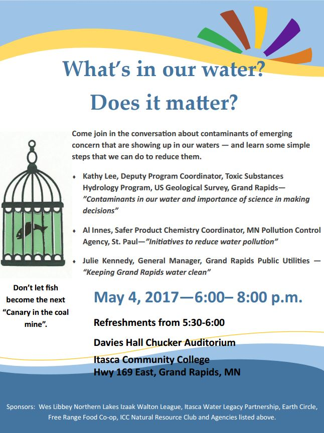 What's in our water event