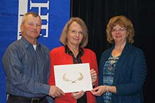 IWLP receiving 2014 Conservation Award from Itasca Soil & Water Conservation District